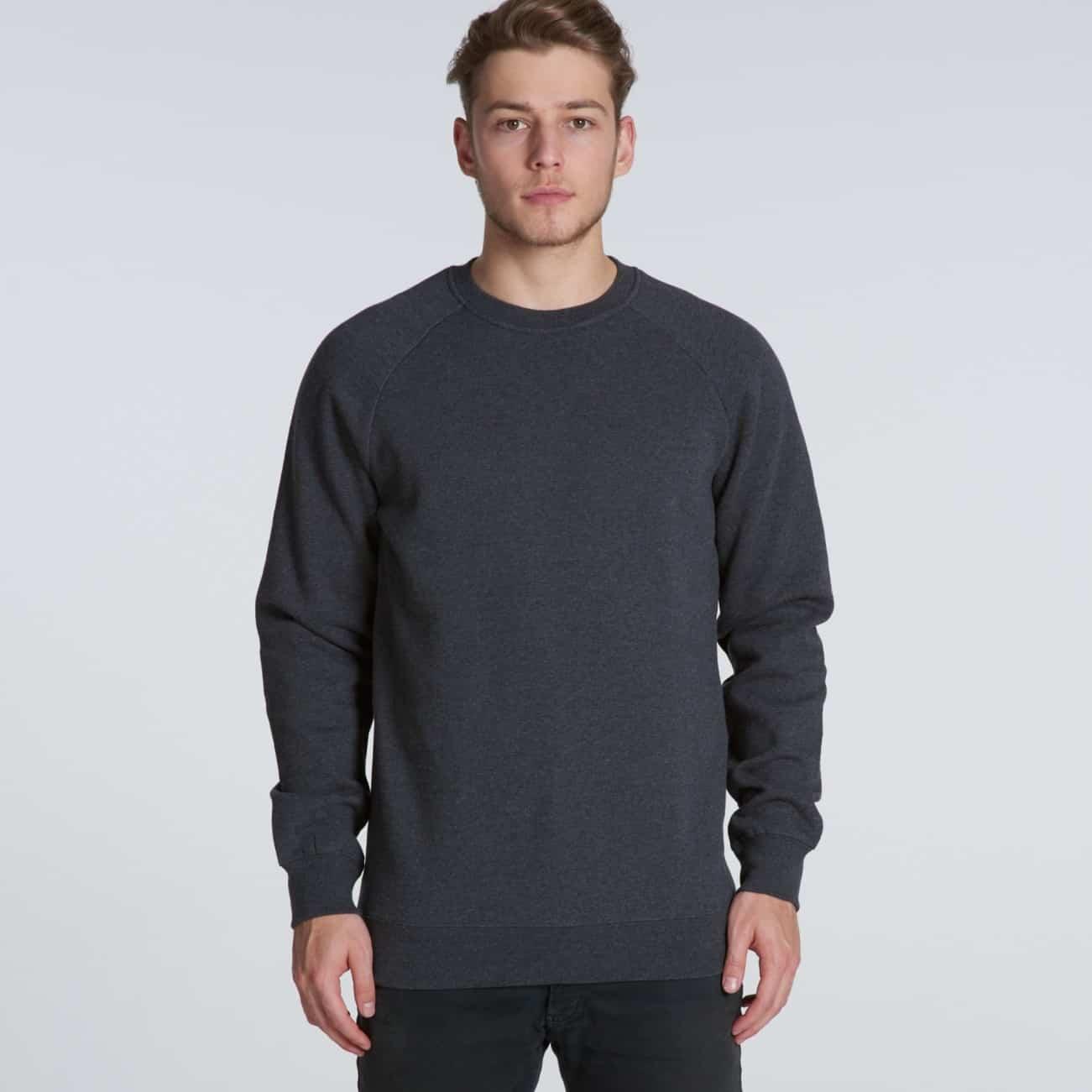 223ac565e AS Colour - Box Crew Neck Sweatshirt Jumper - Print on Demand Custom ...